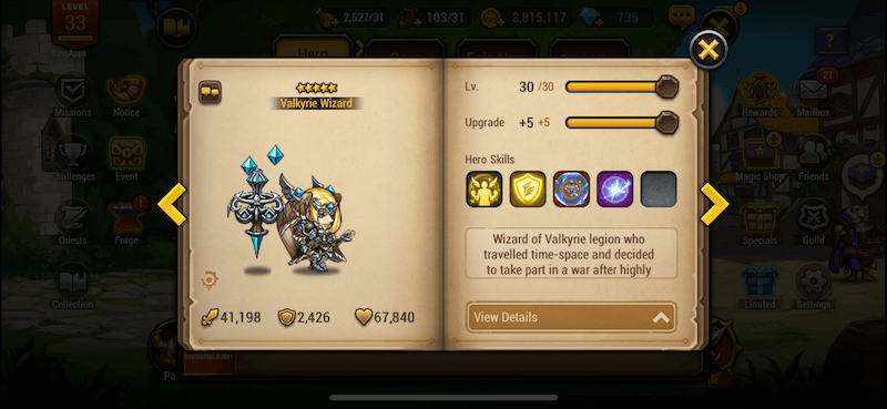 I start to invest in Valkyrie Wizard. Good idea?