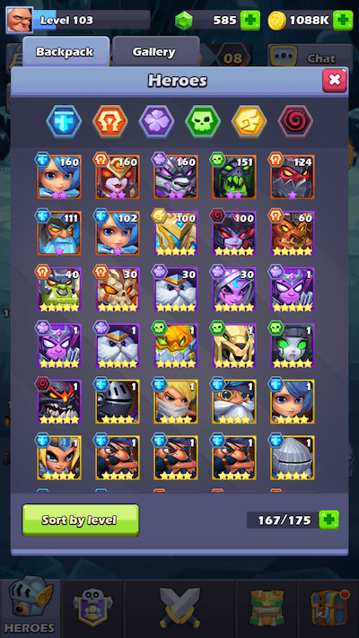 TapTap Heroes — 6-9 Star Tier List Heroes