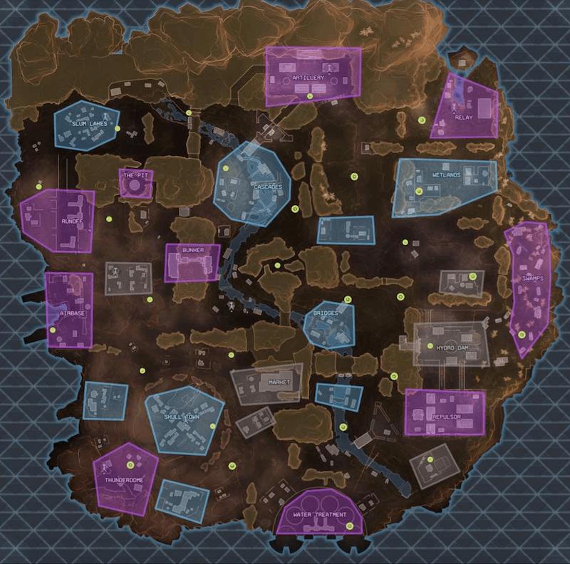 apex legends loot map
