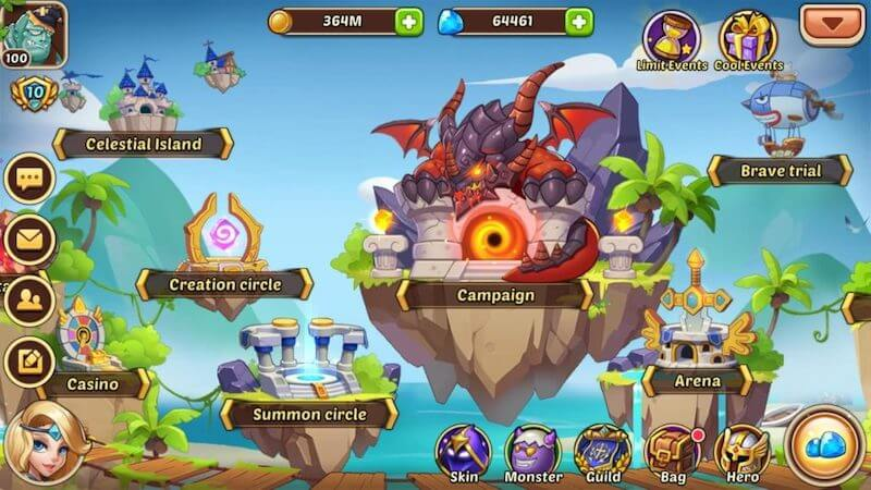Idle Heroes — Beginners Guide, tips and tricks