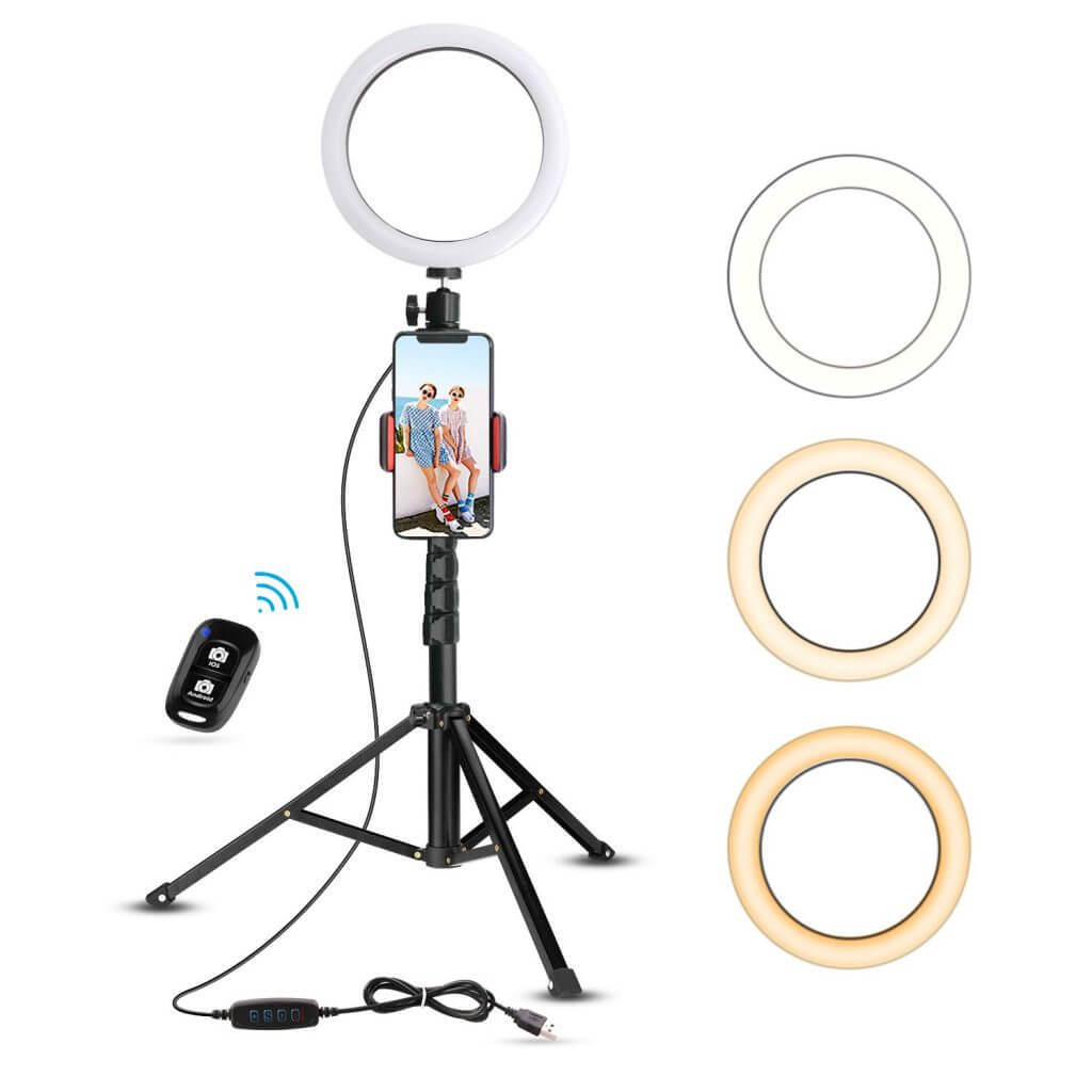 5 Best Selfie Rings Light Reviewfor streaming and photo